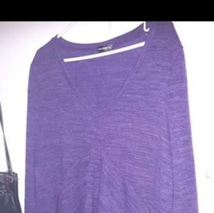 Tops - Purple maternity sweater long sleeve size 2x